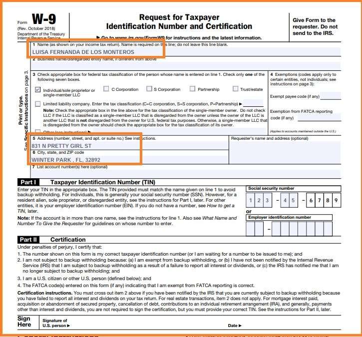 que es un formulario 1099