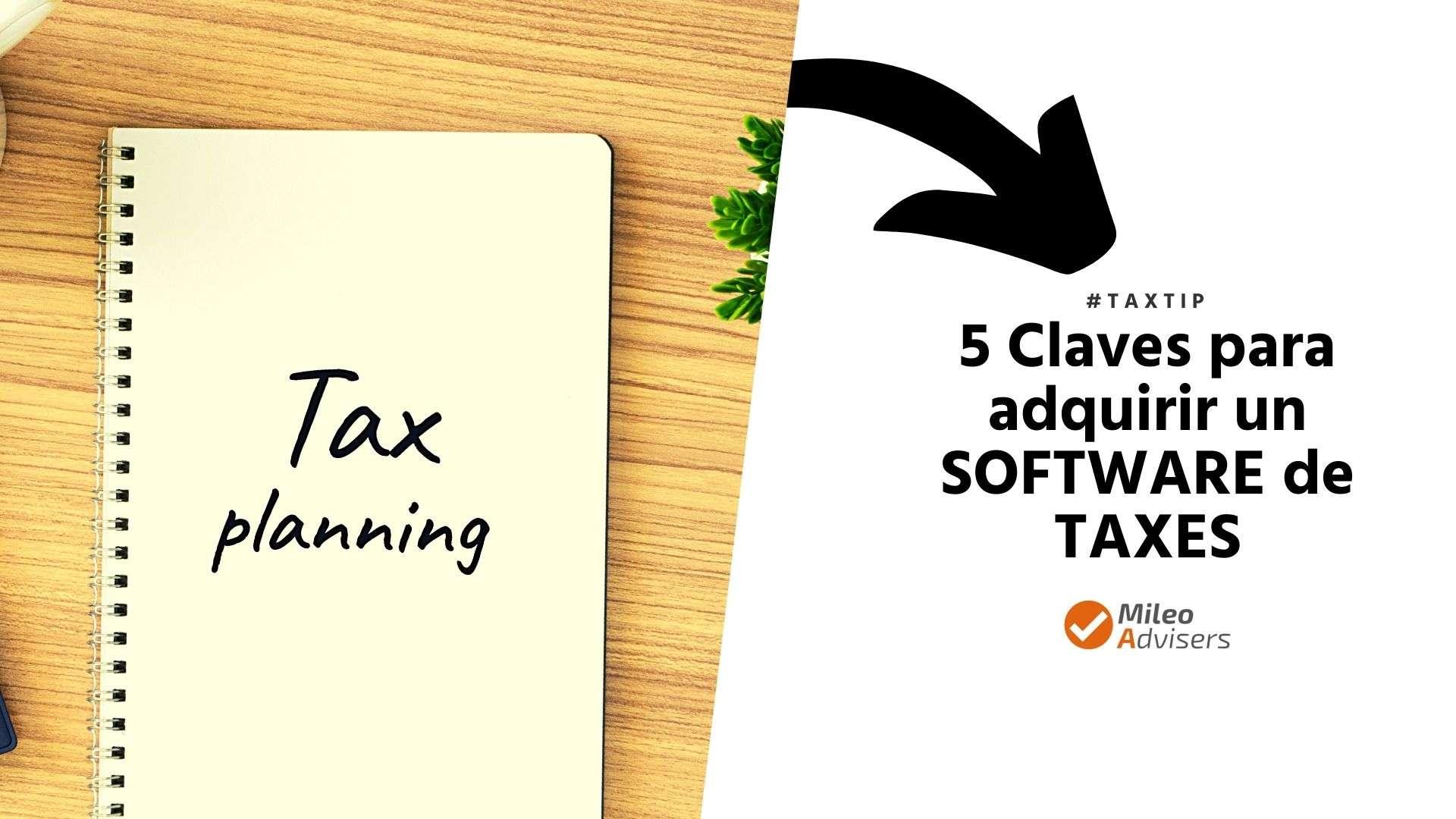 que software comprar para preparar taxes